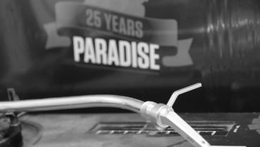 Paradise 25 years vinyl compilation