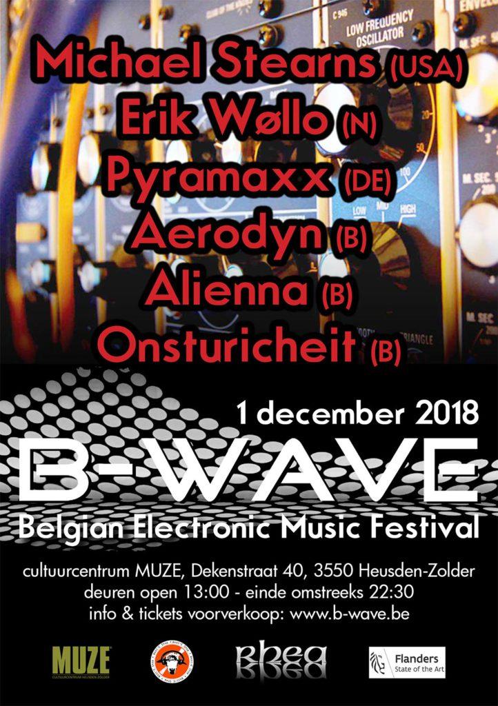 flyer B-wave festival